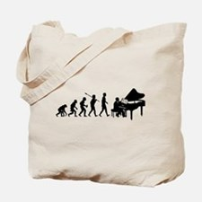 Pianist Tote Bag