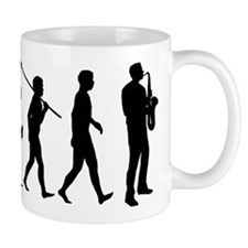 Saxophone Player Small Mug