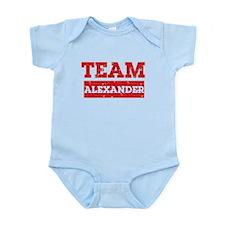 Team Alexander Infant Bodysuit