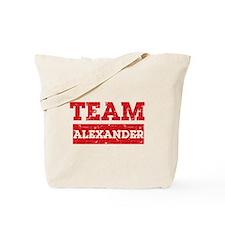 Team Alexander Tote Bag