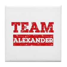 Team Alexander Tile Coaster