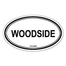 Woodside oval Oval Decal