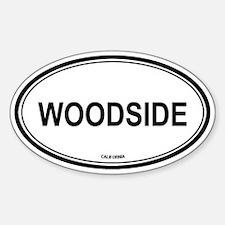 Woodside oval Oval Decal