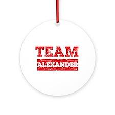 Team Alexander Ornament (Round)