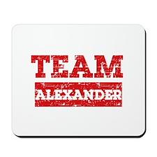 Team Alexander Mousepad