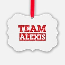 Team Alexis Ornament