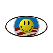 Obama Smiley Icon Patches