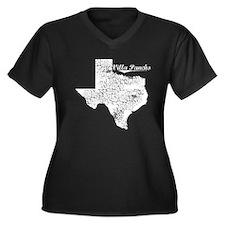 Villa Pancho, Texas. Vintage Women's Plus Size V-N