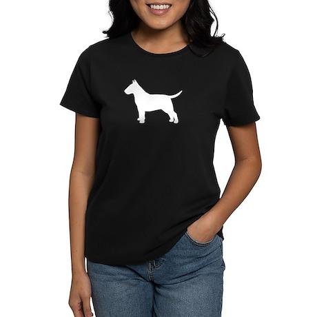 Bull Terrier Women's Dark T-Shirt