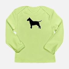 Bull Terrier Long Sleeve Infant T-Shirt
