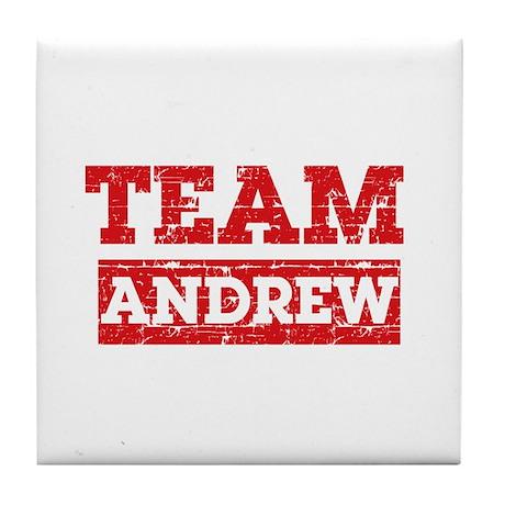 Team Andrew Tile Coaster