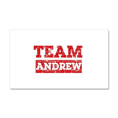 Team Andrew Car Magnet 20 x 12