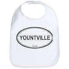 Yountville oval Bib