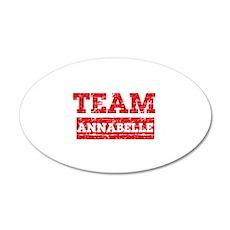 Team Annabelle Wall Decal