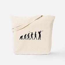 Trombone Player Tote Bag