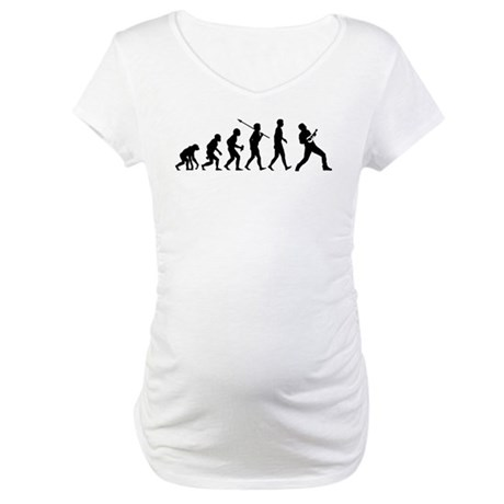 Ukulele Player Maternity T-Shirt