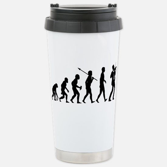 Violinist Stainless Steel Travel Mug
