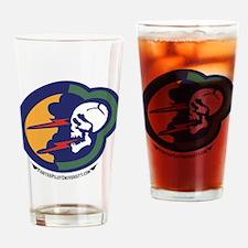 92nd TFS Drinking Glass