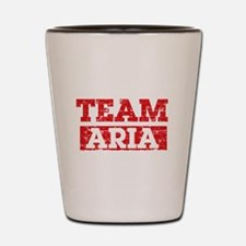 Team Aria Shot Glass