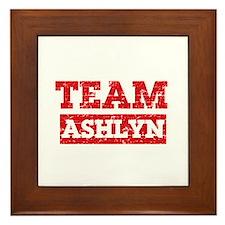 Team Ashlyn Framed Tile