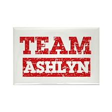 Team Ashlyn Rectangle Magnet
