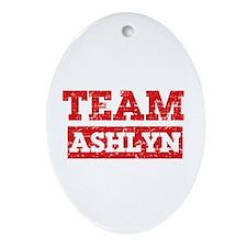 Team Ashlyn Ornament (Oval)