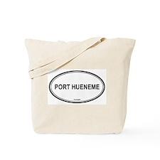 Port Hueneme oval Tote Bag