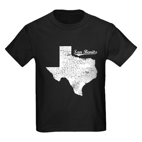 San Benito, Texas. Vintage Kids Dark T-Shirt