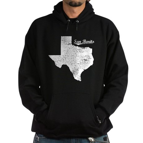 San Benito, Texas. Vintage Hoodie (dark)