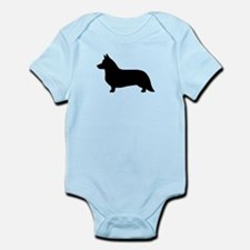 Cardigan Corgi Infant Bodysuit