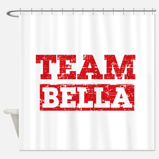 Team Bella Shower Curtain