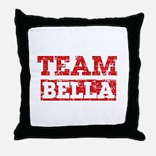 Team Bella Throw Pillow