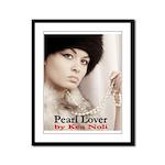 Pearl Lover Framed Panel Print