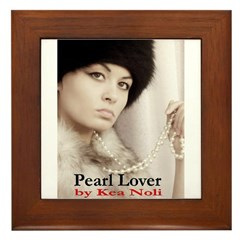 Pearl Lover Framed Tile