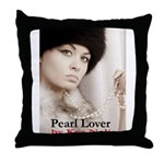 Pearl Lover Throw Pillow