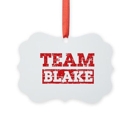 Team Blake Picture Ornament