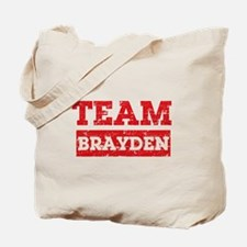 Team Brayden Tote Bag