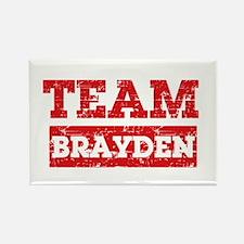 Team Brayden Rectangle Magnet