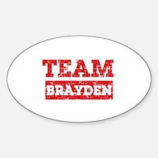 Team Brayden Sticker (Oval)
