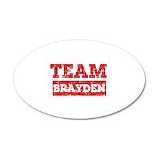 Team Brayden Wall Decal