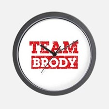 Team Brody Wall Clock