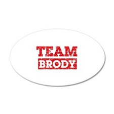 Team Brody Wall Decal