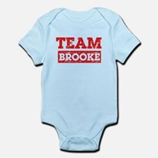 Team Brooke Infant Bodysuit