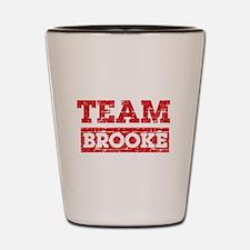 Team Brooke Shot Glass