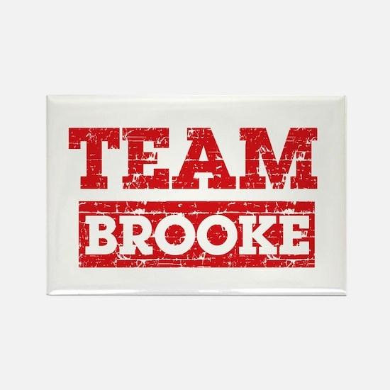 Team Brooke Rectangle Magnet