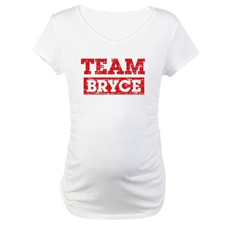 Team Bryce Maternity T-Shirt