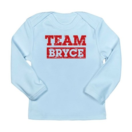 Team Bryce Long Sleeve Infant T-Shirt
