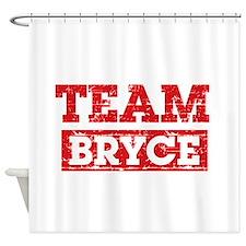 Team Bryce Shower Curtain