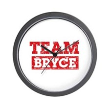 Team Bryce Wall Clock