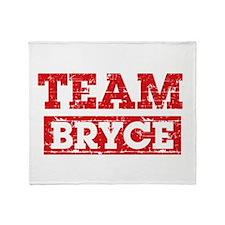 Team Bryce Throw Blanket